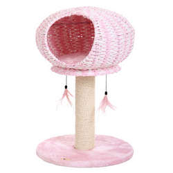 Pink Perseverance Cat Tree