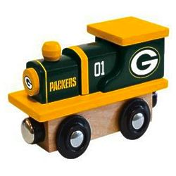 Green Bay Packers Wood Train Toy