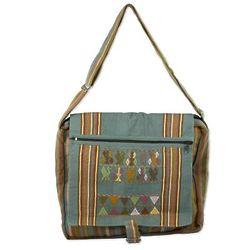 Cotzal Adventure Cotton Messenger Bag