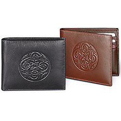 Celtic Leather Wallet