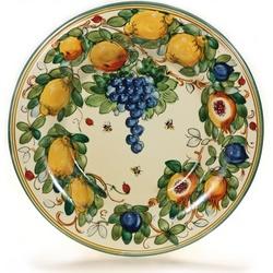 Tuscan Fruit Ceramic Serving Platter