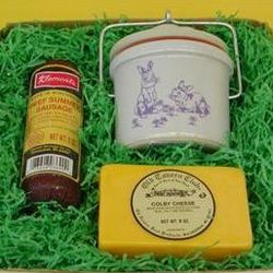 Springtime Entertainment Cheese Gift Box