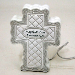 'May God's Love Surround You' Cross Nightlight
