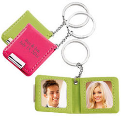 Personalized Double Photo Frames Key Holder