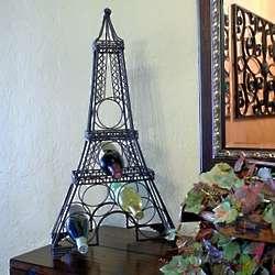 Paris Eiffel Tower Metal Wine Rack