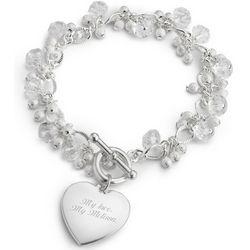 Crystal Flutter Bracelet
