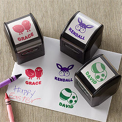 Personalized Easter Stamp