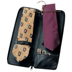 Deluxe Leather Tie Case