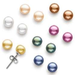7 Freshwater Pearl Earrings