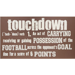 Touchdown Definition Sign