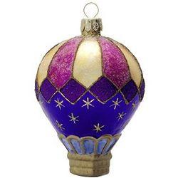 Celestial Blown Glass Christmas Ornament