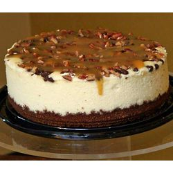 Gluten-Free Turtle Cheesecake