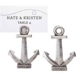 Anchor Place Card Holders with Cards