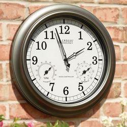 Always Accurate Outdoor Clock