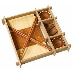 Bamboo Wood Sushi Gift Set