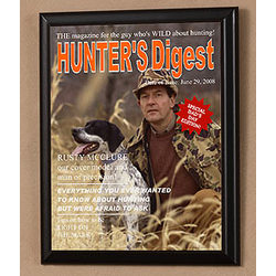 Personalized Hunters Digest Photo Magazine Cover