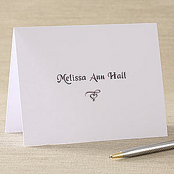Signature Style Note Cards & Envelopes