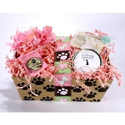 Loss of a Female or Male Dog Sympathy Basket
