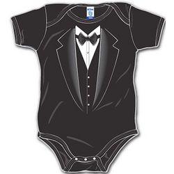 Black Tie Baby Bodysuit