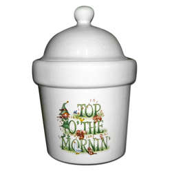 St. Patrick's Day Candle Crock
