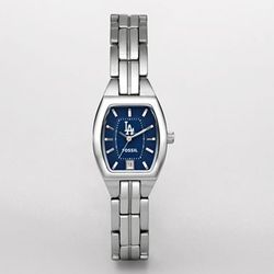 Los Angeles Dodgers Ladies Cushion Watch