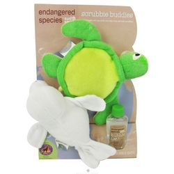 Endangered Species Scrubbie Buddies Set