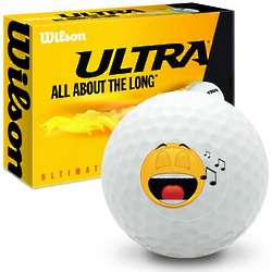 Singing Face Ultimate Distance Golf Balls