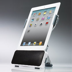 Portable iPad Speaker Dock