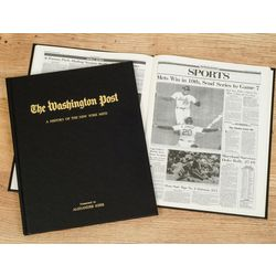 Washington Post Mets Fan Personalized Team Book