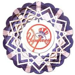 New York Yankees Wind Spinner