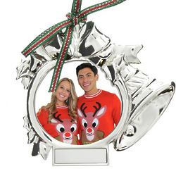 Ringing Bell Ornament with Photo Frame