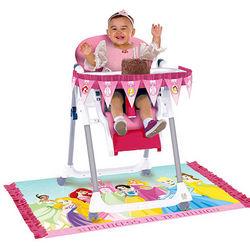 1st Birthday Disney Princess High Chair Kit