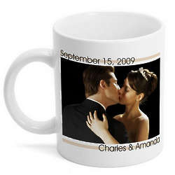 Personalized Modern Love Photo Mug