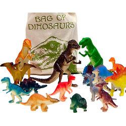 Bag o' Dino Toys