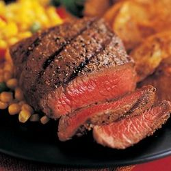 Six 6 oz. Top Sirloin Steaks