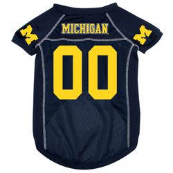 Michigan Wolverines Premium Pet Football Jersey