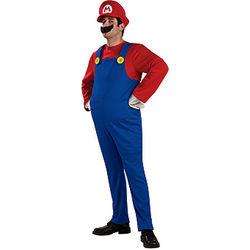 Adult Deluxe Mario Costume