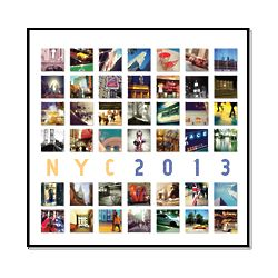 2013 New York City Wall Calendar