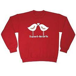 Personalized Tweet-Hearts Sweatshirt