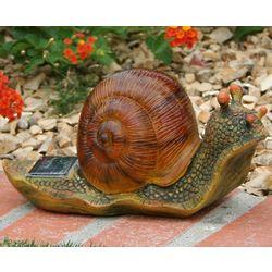 Solar Snail Garden Light