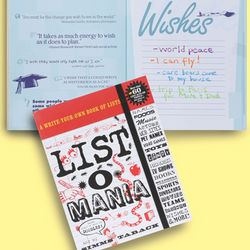 List-O-Mania!: A Write-Your-Own Book of Lists