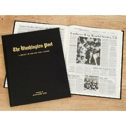 Washington Post Yankees Fan Personalized Team Book
