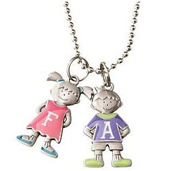 Personalized Character Charm Necklace