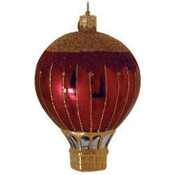 Renaissance Blown Glass Christmas Ornament