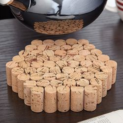 Tres Chic Wine Cork Trivet
