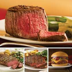 Fanfare Combo Filet Mignons and Gourmet Burgers