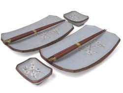 Cherry Blossom Sushi Plate Set