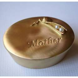 Mother Trinket Box with Pearls