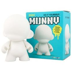 Mini Munny White Edition