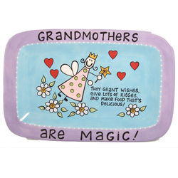 Grandmothers Are Magic! Serving Platter